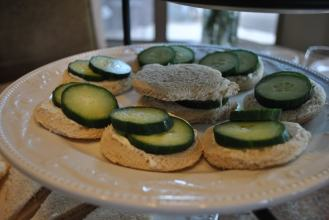 Dill Cream Cheese & Cucumber Sandwiches