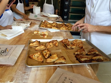 Class Apple Turnovers at Le Pain Quotidien