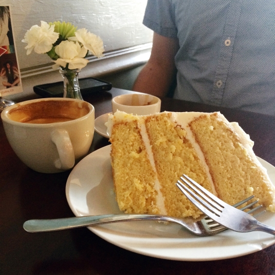 Starry Night Espresso Cafe Lemon Cake